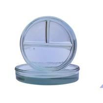 Cápsula Petry de Vidro com 3 Divisões - Preven