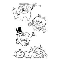 Pinte e Brinque - Dental Kids