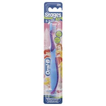 Escova Dental Infantil Stages 3 Princesas - Oral-B