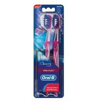Escova Dental 3D White Luxe Pro-Flex - Oral-B