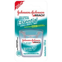 Fio Dental Reach Essential Menta - Johnson & Johnson
