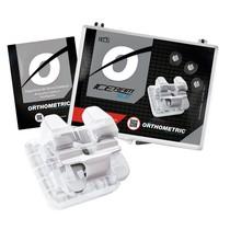 Bráquete Cerâmico Autoligado Iceram SLB Roth 022 Kit - Orthometric