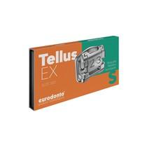 Bráquete de Aço Autoligado Tellus EX Standard 022 Kit - Eurodonto