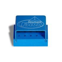 Broqueiro Alumínio 15 Furos FG Azul Milleniun - Fava