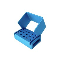 Broqueiro Alumínio 15 Furos Gates Azul Milleniun - Fava