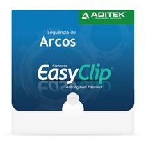 Sequência de Arcos NiTi Termoativados BioSlide EasyClip PDM - Aditek
