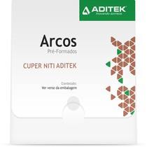 Arco Termoativado Cuper NiTi BioSlide Damon Redondo - Aditek