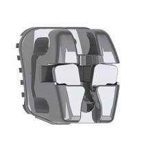 Bráquete de Aço Autoligado EasyClip+ Roth/MBT 018 - Aditek