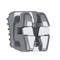 Bráquete de Aço Autoligado EasyClip+ Damon Standard/Super Torque 022 Kit - Aditek