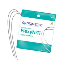 Arco Flexy NiTi Superelástico ALX Quadrado - Orthometric