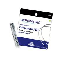 Arco de Aço SS Braided Estético 8 Filamentos Retangular - Orthometric