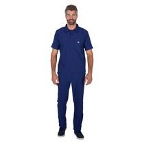 Pijama Cirúrgico Masculino Ribana Mr. Kitsch Azul Marinho - FunWork