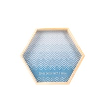 Bandeja Hexagonal - Uatt