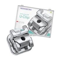 Bráquete de Aço Autoligado U-Clip Roth 022 Kit - Orthometric