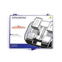 Bráquete de Aço Advanced Series MBT 022 Kit - Orthometric