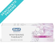 VENC 30/08/2021 - Creme Dental 3D Whitening Therapy Sensitive Care - Oral-B