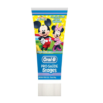 Creme Dental com Flúor Stages Mickey e Minnie - Oral-B