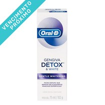 VENC 30/08/2021 - Creme Dental Detox Gentle White - Oral-B