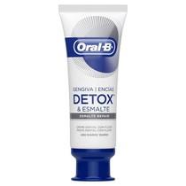 Creme Dental com Flúor Gengiva Detox e Esmalte - Oral-B