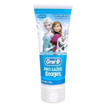 Creme Dental com Flúor Stages Frozen - Oral-B