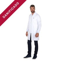 DANIFICADO - Jaleco Masculinho Ribana Mr Kitsch M Branco - FunWork