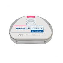 Disco CAD/CAM Ceramill Zolid FX Multilayer 71S - AmannGirrbach