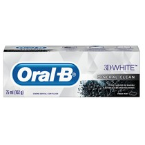 Creme Dental com Flúor 3D White Mineral Clean - Oral-B