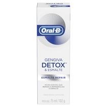 Creme Dental com Flúor Gengiva Detox e Esmalte Repair - Oral-B