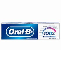 Creme Dental com Flúor 100% - Oral-B