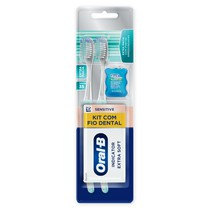 Escova Dental Indicator Extra Soft Kit - Oral-B