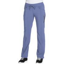 Scrub Calça Feminina Cintura Baixa Azul Celeste - Cherokee