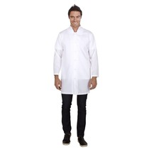 Jaleco Masculino Oxford Branco - Basic