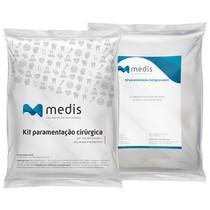 Kit Cirúrgico Estéril Periodontia Padrão Branco 30g - Medis