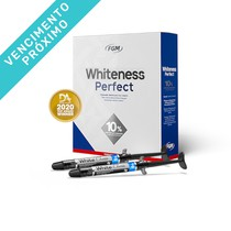 VENC 25/09/2021 - Kit Clareador Whiteness Perfect 10% + White Class 6% - FGM