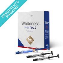 VENC 25/08/2021 - Kit Clareador Whiteness Perfect 16% + 2 Aplicadores Classe 7,5% - FGM
