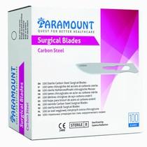 Lâmina de Bisturi de Aço Carbono Estéril - Paramount