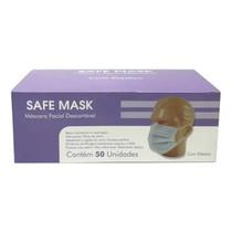 Máscara Descartável Tripla com Elástico - Safemask