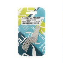 Moldeira Parcial Lateral Perfurada Alumínio - Tecnodent