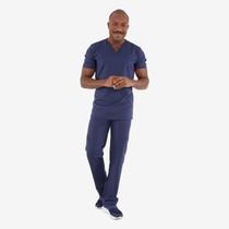 Pijama Cirúrgico Masculino Powerflex Azul Marinho - FunWork