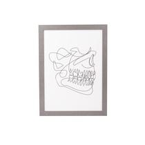 Quadro decorativo Arcada Dentária - Uatt
