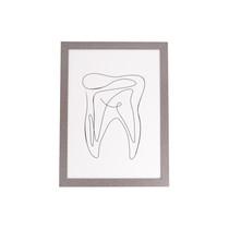Quadro decorativo Dente - Uatt
