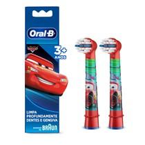 Refil para Escova Dental Elétrica Infantil Carros - Oral-B