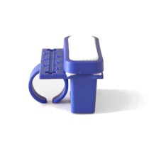 Régua Anel Endodôntica Milimetrada de Plastico com Tamborel - Mk Life