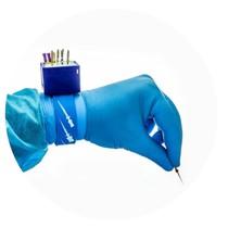 Régua Endodôntica Milimetrada para Pulso de Plastico com Tamborel - Mk Life