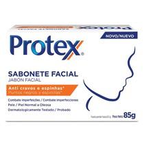 Sabonete em Barra Protex Facial Anti-Cravos - Colgate
