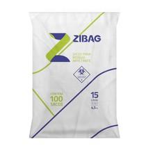 Saco para Lixo Hospitalar Branco 15L 4,5Kg - Zigbag