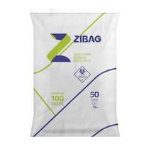 Saco para Lixo Hospitalar Branco 50L 15Kg - Zigbag