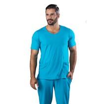 Scrub Blusa Masculina Dry Fit Azul - Namastê
